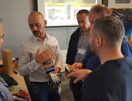 Verkaufsleiter Alessandro Cervino nahm am Treffen teil